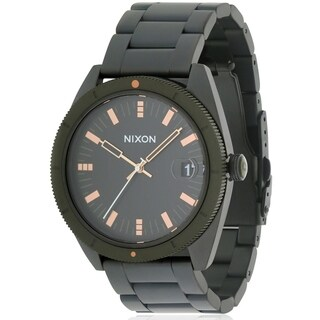 Nixon Rover Black Stainless Steel Mens Watch A3591530
