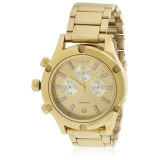 Nixon Camden Chronograph Gold-Tone Ladies Watch A3541219