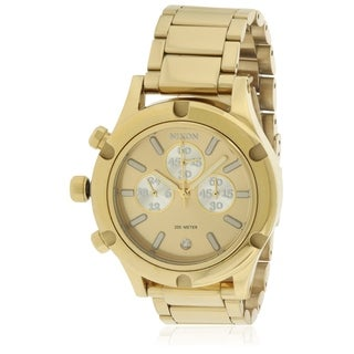 Nixon Camden Chronograph Gold-Tone Ladies Watch A3541219