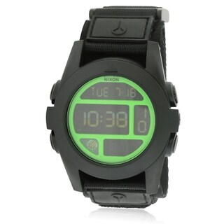 Nixon Baja Nylon Digital Mens Watch A489027