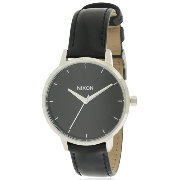 7f16be2b2 Shop Nixon Kensington Leather Ladies Watch - Free Shipping Today ...