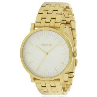 Nixon Gold-Tone Mens Watch A10572443|https://ak1.ostkcdn.com/images/products/17761450/P23960686.jpg?impolicy=medium