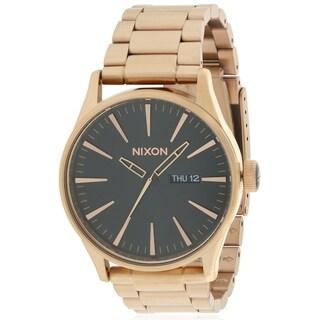 Nixon Rose Gold-Tone Mens Watch A3561932