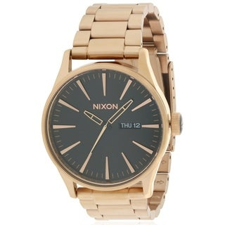 Nixon Rose Gold-Tone Mens Watch A3561932