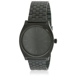 Nixon Time Teller Black Stainless Steel Mens Watch A045001|https://ak1.ostkcdn.com/images/products/17761458/P23960693.jpg?_ostk_perf_=percv&impolicy=medium