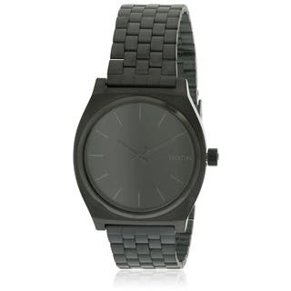 Nixon Time Teller Black Stainless Steel Mens Watch A045001|https://ak1.ostkcdn.com/images/products/17761458/P23960693.jpg?impolicy=medium