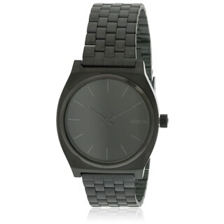 Nixon Time Teller Black Stainless Steel Mens Watch A045001