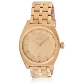 Nixon Monopoly Rose Gold-Tone Unisex Watch A325897|https://ak1.ostkcdn.com/images/products/17761459/P23960696.jpg?impolicy=medium