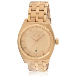 Nixon Monopoly Rose Gold-Tone Unisex Watch A325897