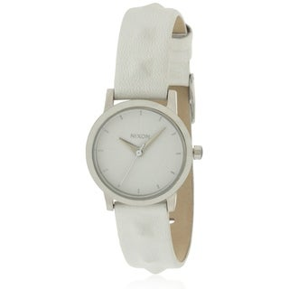 Nixon Kenzi Leather Ladies Watch A3981811