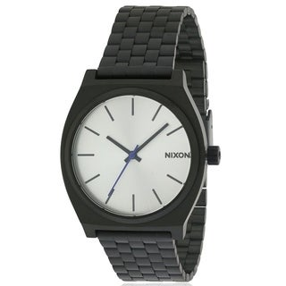 Nixon Time Teller Black Stainless Steel Mens Watch A045180