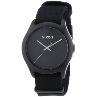 Nixon The Mod Black Textile Strap Mens Watch A348001-00
