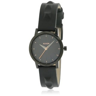 Nixon Kenzi Leather Ladies Watch A3981669