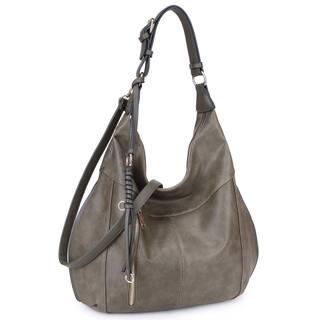 Dasein Lightweight Soft Water Wash Hobo Handbag