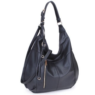 Dasein Lightweight Soft Water Wash Hobo Handbag