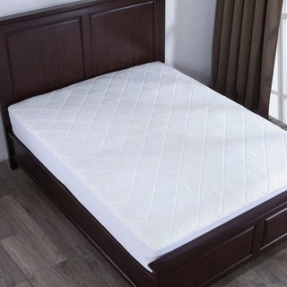 St. James Home Memory Foam Mattress Pad - White (2 options available)