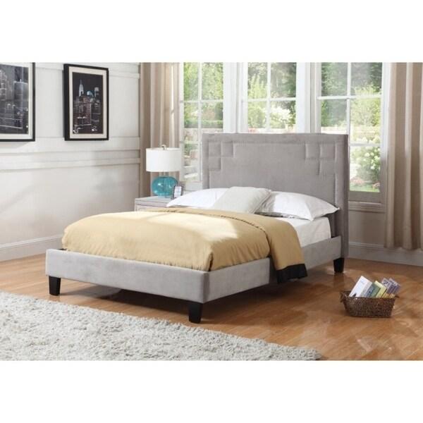 Shop Best Quality Furniture Upholstered Velvet Platform