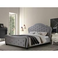 Best Quality Furniture Upholstered Tufted Platform Bed
