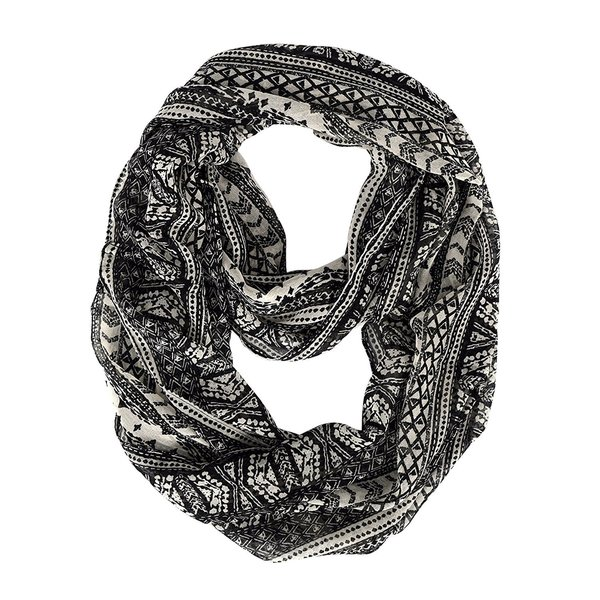 Peach Couture Tribal Infinity Scarf - Medium. Opens flyout.