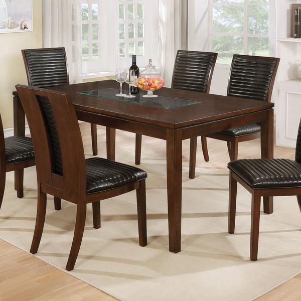 Shop Furniture Of America Gileon Transitional Walnut 66
