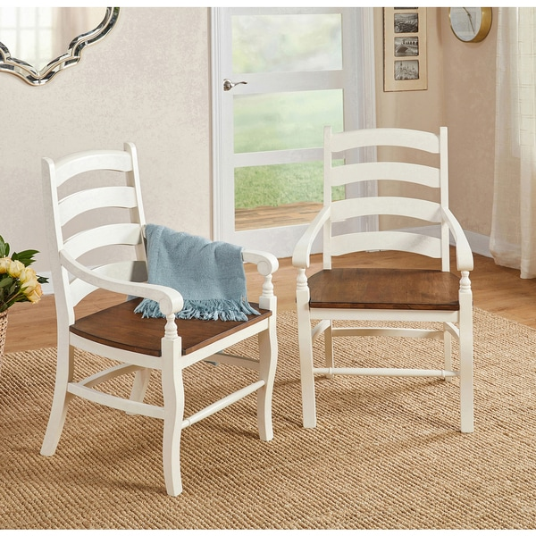 Simple Living Midland Arm Chair (Set of 2)