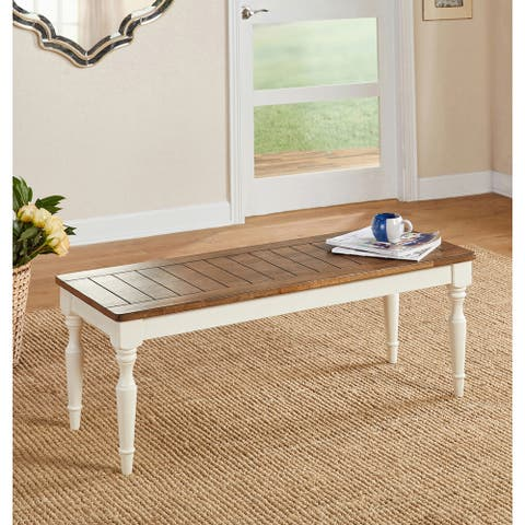 Simple Living Midland Dining Bench