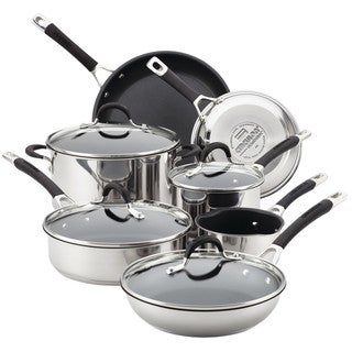 Link to Circulon  Momentum Stainless Steel Nonstick 11-Piece Cookware Set Similar Items in Cookware