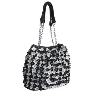 Amerileather Willet Leather Shoulder Hobo Handbag