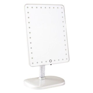Impressions Vanity Touch Pro BLING EDITION LED Makeup Mirror with Bluetooth Audio and Speakerphone