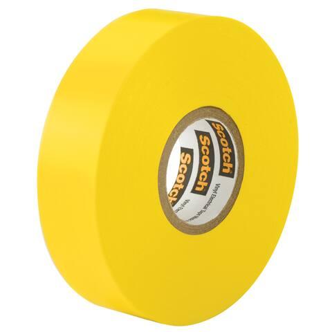 """3M 35 1/2"""" X 20' Yellow Scotch Vinyl Electrical Tape No. 35"""