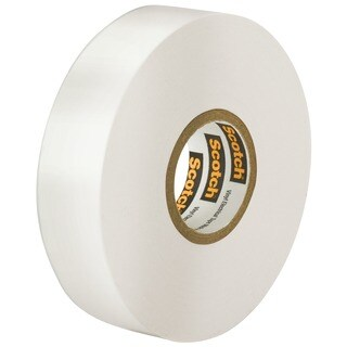 "3M 35 1/2"" X 20' White Scotch Vinyl Electrical Tape No. 35"