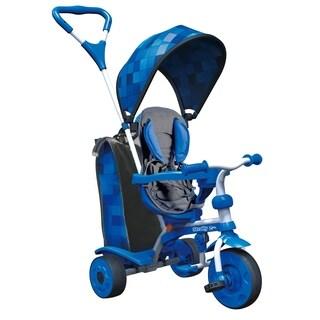 Strolly Spin Trike - Blue Pattern