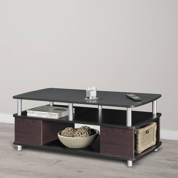 Shop Porch Den Leavitt Open Storage Coffee Table Free Shipping