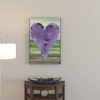 Porch & Den Zane Heartwork Anthony Canvas Art
