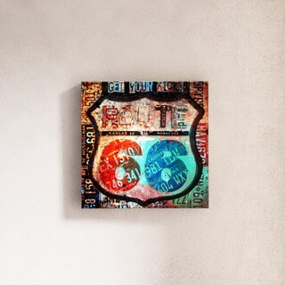 Porch & Den 'Born2BWild VI' ArtPlexi Wall Art