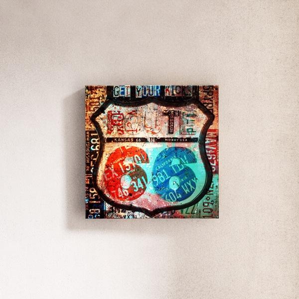 Porch & Den 'Born2BWild VI' ArtPlexi by Ready2HangArt