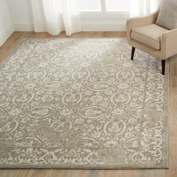 Porch & Den Greenpoint Meserole Grey Area Rug - 7'10 x 10'