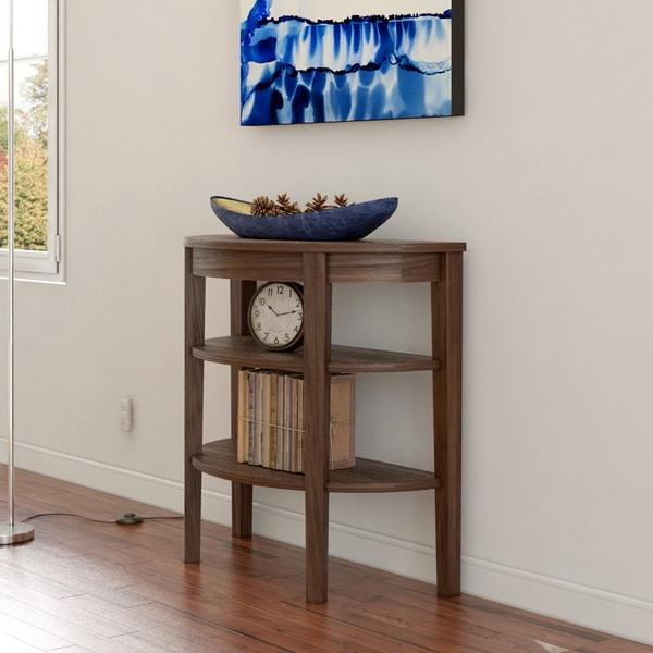 Superb Porch U0026amp; Den Bywater Poland Wood 3 Shelf Console Table
