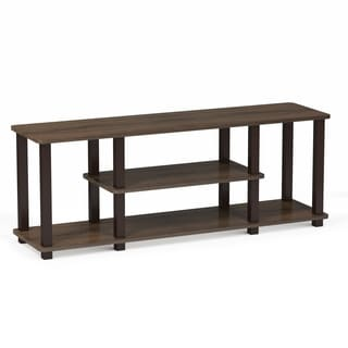 Porch U0026 Den East Village Stuyvesant Open Shelves 3 Tier Entertainment TV  Stand