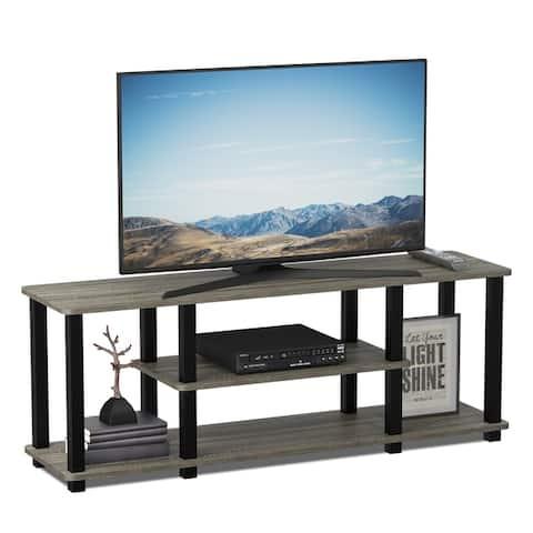 Porch & Den Stuyvesant Open Shelves 3-tier Entertainment TV Stand