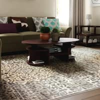 Porch & Den Pearl District Burnside Brown Area Rug - 7'10 x 10'6