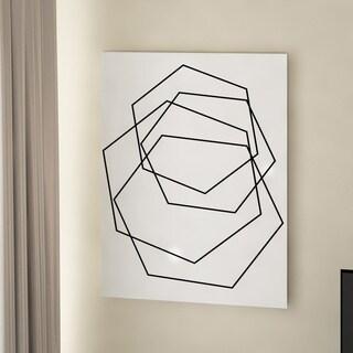 Porch & Den Wall Decor 'Gilt Mod III-W' in ArtPlexi