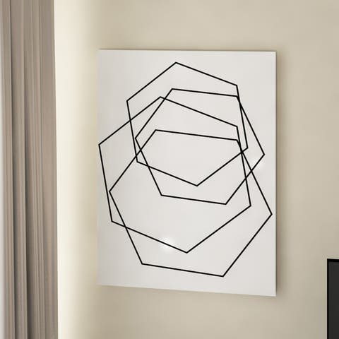 The Curated Nomad Wall Decor 'Gilt Mod III-W' in ArtPlexi