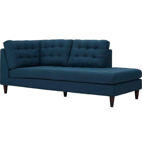 Modway Empress Fabric-upholstered Chaise  sc 1 st  Overstock : upholstered chaise - Sectionals, Sofas & Couches