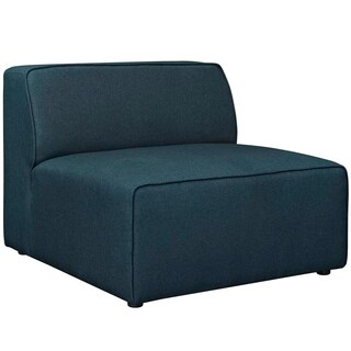 Modway Mingle Fabric Upholstered Armless Accent Chair (Option: Teal)