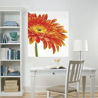 Wall Pops 34-Inch-by-39-Inch Daisy Panel Decals Wall Vinyl
