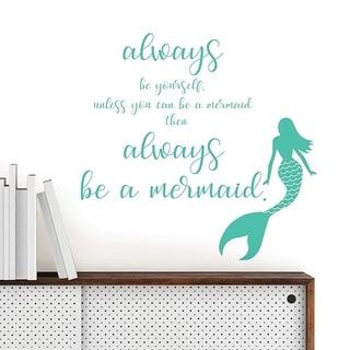 Wall Pops Mermaid Wall Quote Wall Vinyl