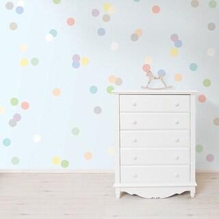 Wall Pops Pastel Confetti MiniPops Sticker Wall Vinyl