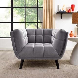 Modway Bestow Velvet Armchair