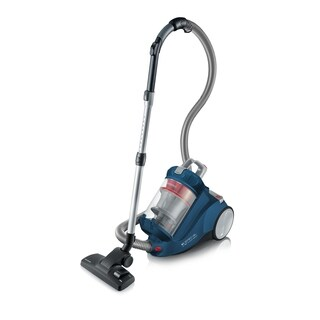 Severin Bagless Canister Blue Vacuum Cleaner